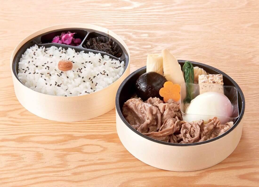 名古屋をどり観劇パック「人形町 今半」お弁当の画像