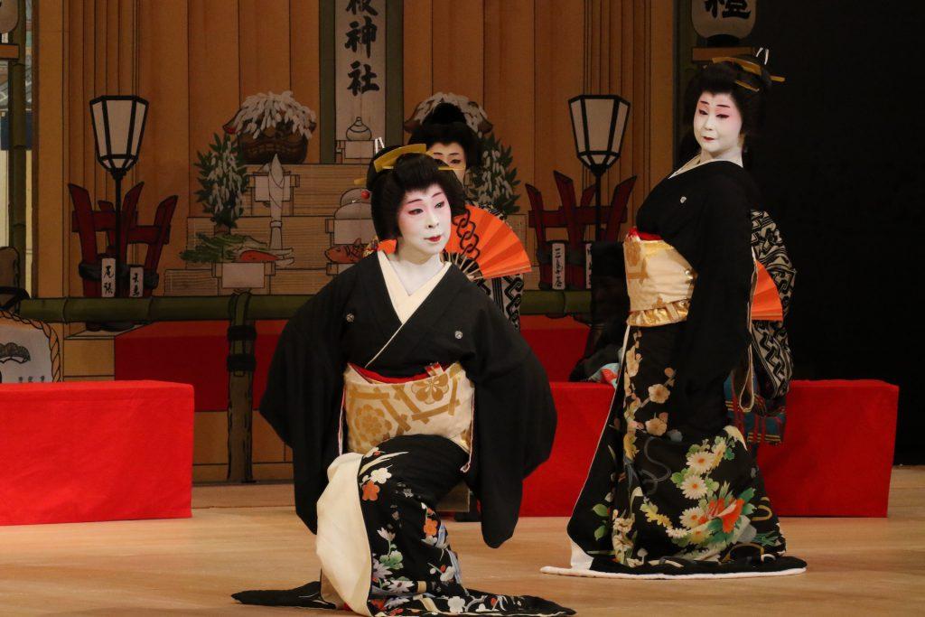 名古屋をどり 日舞 舞台写真
