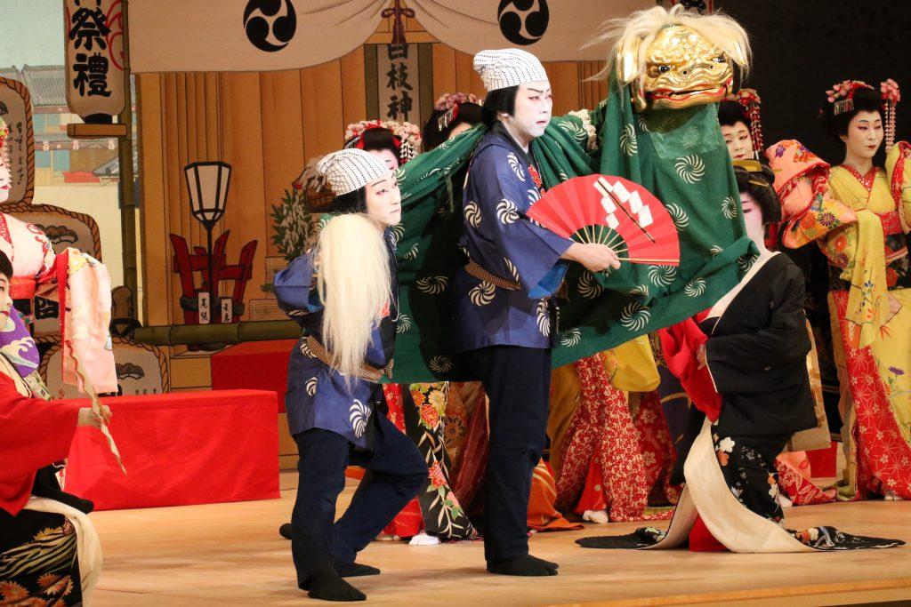 日本舞踊 獅子舞